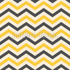Bee Chevron Seamless Vector Pattern