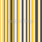 Bienen Linien Nahtloses Vektormuster