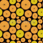 Wood Slices Repeat Pattern