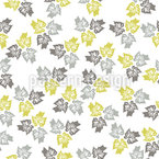 Maple Trio Seamless Vector Pattern Design