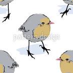 Birdie Seitenblicke Muster Design