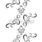White Orient Vector Ornament