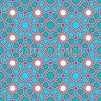 Arabisches Gitterwerk Nahtloses Vektormuster