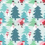 Weihnachtsmann In Eile Vektor Design