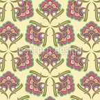 Historic Flowers Seamless Pattern