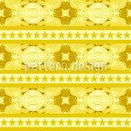 お祝いボーデュレ シームレスなベクトルパターン設計