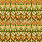 Chevron Rows Design Pattern