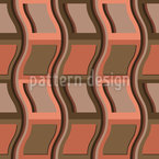 Stacked Chairs Seamless Vector Pattern Design