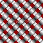 Metallic Mesh Seamless Vector Pattern
