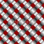 Metallische Mesh Nahtloses Vektor Muster