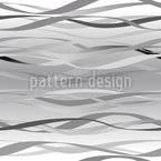 Waves In Grey Pattern Design
