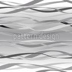Wellen In Grau Nahtloses Vektormuster
