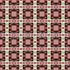 Art Deco Mosaic Vector Pattern