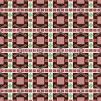 Art Deco Mosaik Nahtloses Vektormuster