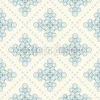 Delfter Blumen Kacheln Muster Design