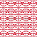 Mosaik Streifen Nahtloses Vektormuster