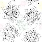 Atom Strudel Nahtloses Vektormuster