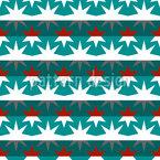 Sternige Streifen Vektor Ornament