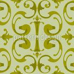 Barocke Voluten Vektor Muster