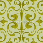 Baroque Volutes Vector Pattern