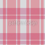 Tartan Pink Seamless Vector Pattern Design