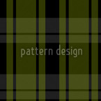 Tartan Blackgreen Design de padrão vetorial sem costura