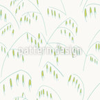 Wild Oat Seamless Vector Pattern Design