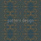 Barock Gitter Vektor Muster