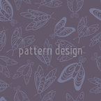 Moths Pattern Design