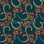 Love For Nature Vector Pattern