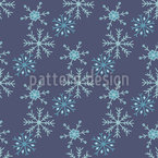 Snowstorm Seamless Vector Pattern Design