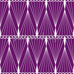 Thread Strings Seamless Vector Pattern Design