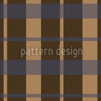 Carolina Brown Seamless Vector Pattern Design