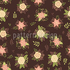 Delicate Bouquets Seamless Vector Pattern Design