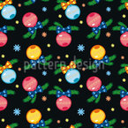 Christmas Decoration Seamless Vector Pattern Design