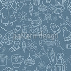 Winter Joy Seamless Vector Pattern Design