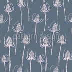 Thistle Seamless Vector Pattern Design