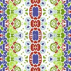 Ornamentaler Weg Vektor Design
