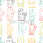 Mittens Pattern Design