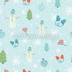 Spass im Schnee Designmuster