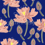 Lotus Blumen Tanz Vektor Ornament