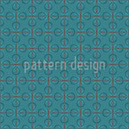 Retro Loops Seamless Vector Pattern Design