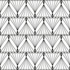 Zickzack Maschen Nahtloses Vektor Muster