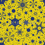 Snowflake Decorations Repeat Pattern