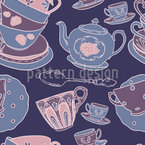 Pottery Seamless Vector Pattern Design