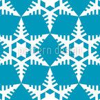 雪片を切り取る シームレスなベクトルパターン設計