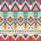 Aztec Tribal Art Seamless Vector Pattern Design