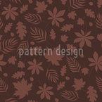 Blätter in der Nacht Vektor Design