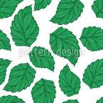 Hopfen Blätter Nahtloses Vektormuster