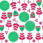 I Stray Flowers For You Seamless Vector Pattern Design